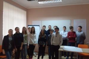 Наша шкільна команда проекту