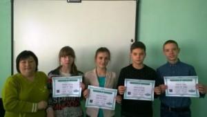 Команда учасників 8 класів
