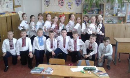 Парад вишиванок у нашій школі