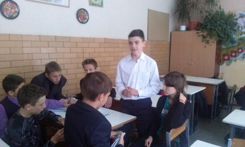 Класні дебати в 8-А класі