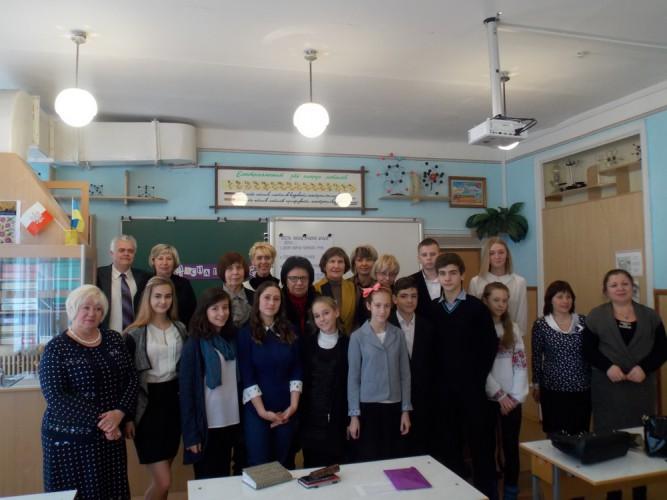 """Проект """"Класна школа"""" представляли на семінарі директорів в місті Кам'янське"""