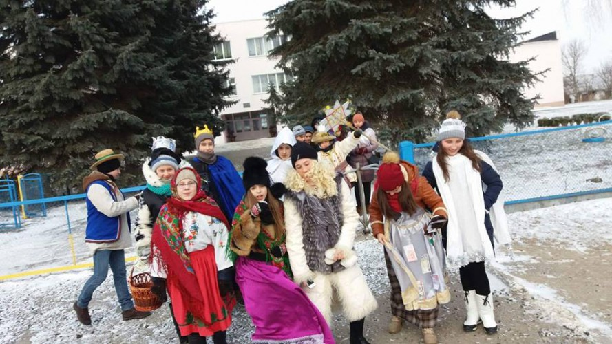 Як кам'янські гімназисти досвідом «Класної школи» ділилися...  Схід та Захід України разом!