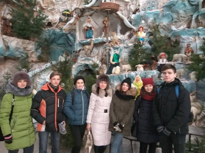 Враження учнів від Різдвяної казки на Тернопільщині. Схід та Захід разом!