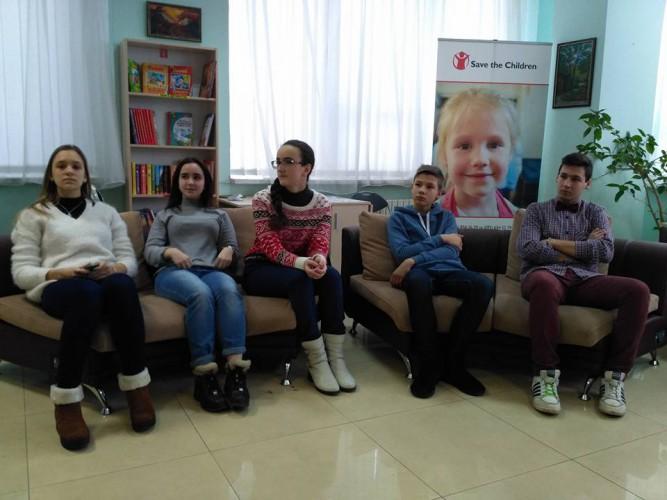 """Участь кам'янських гімназистів в проекті """"Юні дипломати України та Грузії""""."""