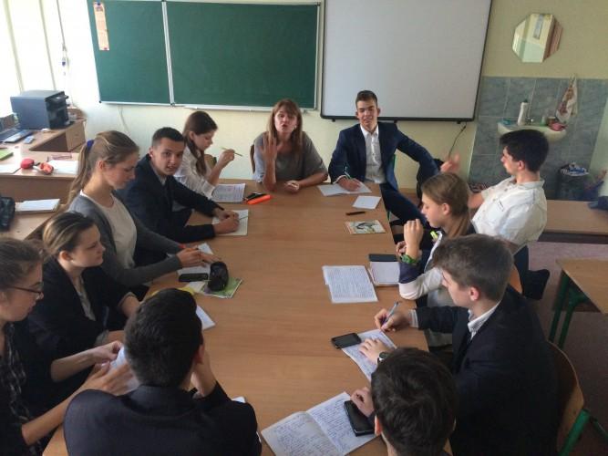 Дебати в 11-А класі