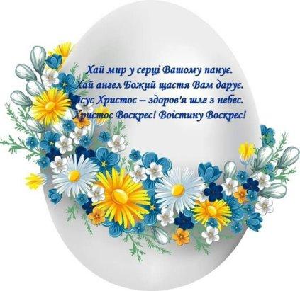 Усіх із світлим святом ВЕЛИКОДНЕМ!