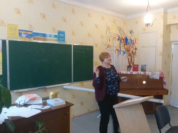 """Тренінг """" Інтерактивні форми й методи навчання"""" з Оленою Пометун"""