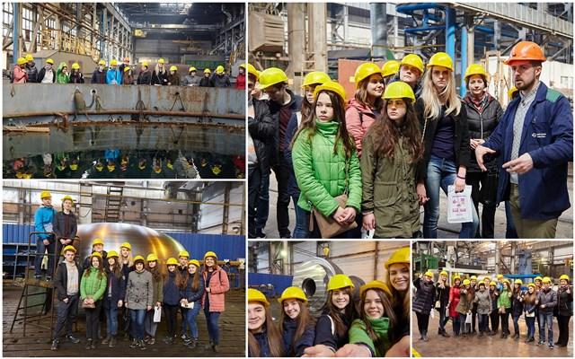 25 квітня десятикласники нашої школи відвідали підприємство «Енергомашспецсталь»