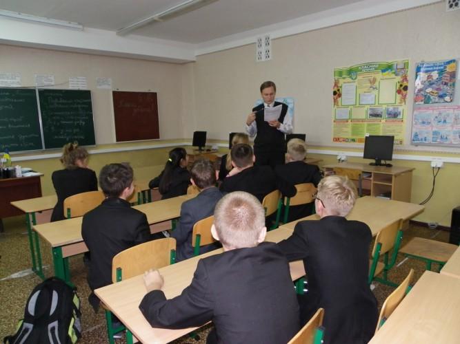 Проведення дебатів у 6-Б класі