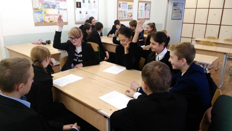 Дебати у 8-Б класі