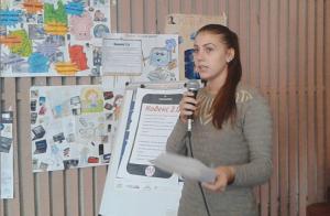 Дорожко Даря оголошує опрацьовані пункти Кодексу