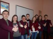 """Учні 10 класу готові до участі у  проекті """"Класна школа"""""""