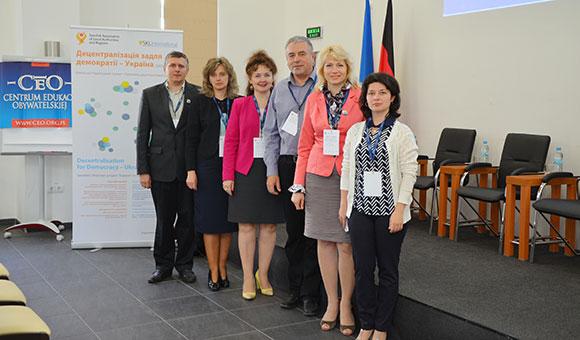 Участь команди гімназії у Міжнародній конференції «Українська освітня реформа у європейській перспективі»