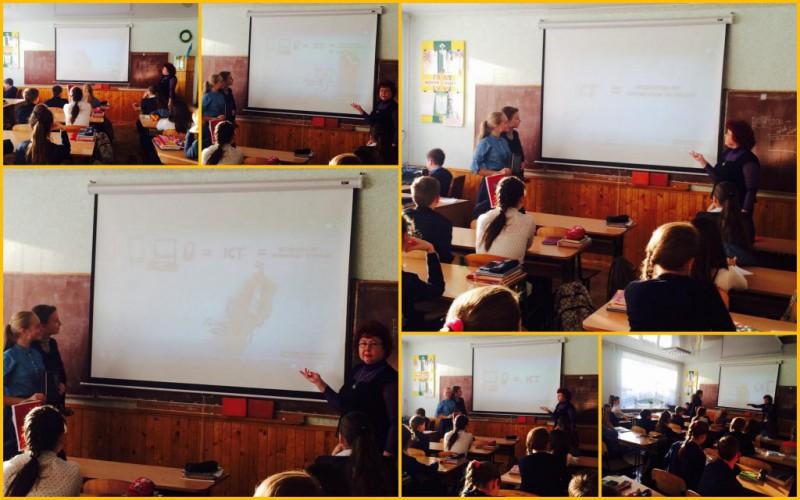 """""""Використання новітніх технологій у школі"""". Саме на таку тему  відбулися дебати у 4 (8) - А класі минулого тижня."""