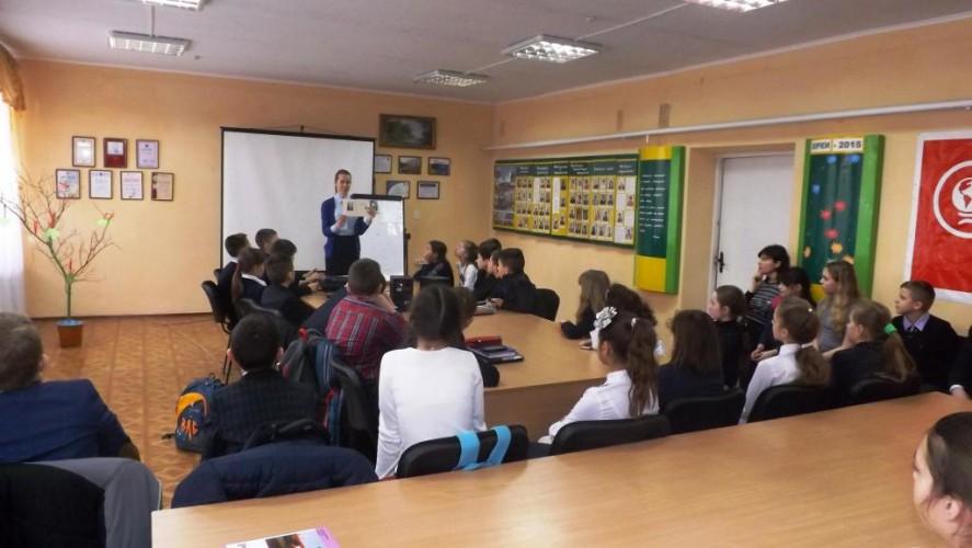 В рамках тижня української мови з дітьми, які проживають в гуртожитку,проведено захід з нагоди 145-ї річниці від дня народження Лесі Українки.