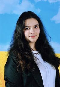 Вікторія Лебіга- учениця