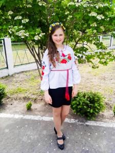 Юлія Масник - учениця