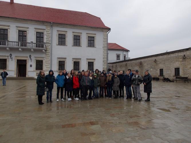 """Історико - етнографічна екскурсія """"Замки Тернопілля"""""""