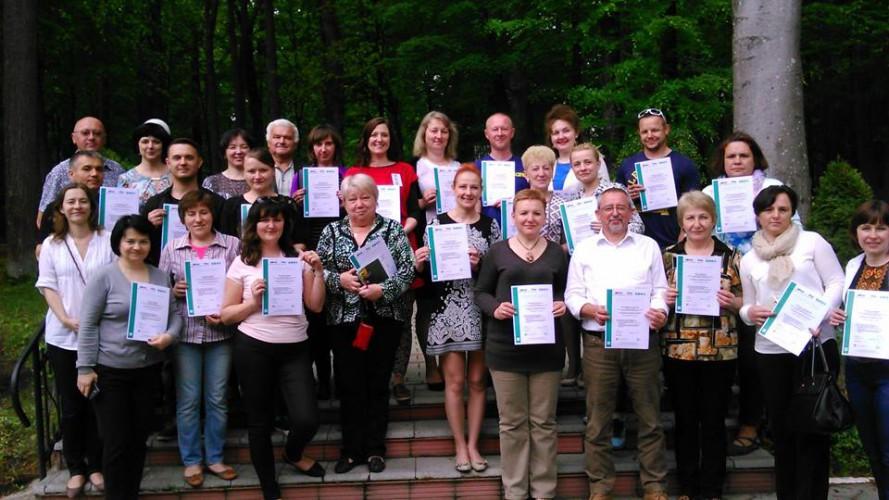 Зустріч-тренінг учителів з різних міст України та Польщі